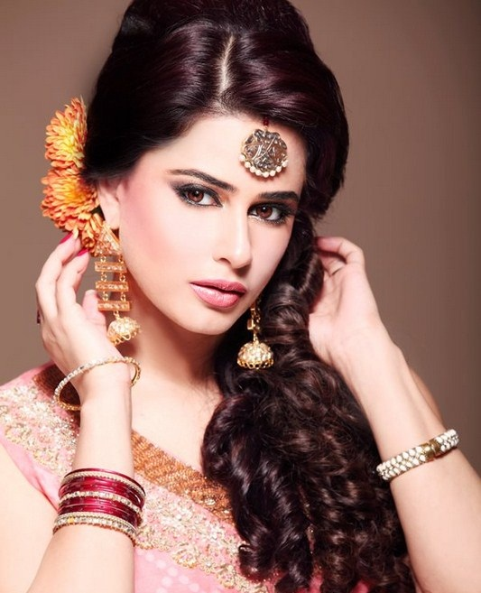 Long Eid Hairstyle