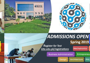 KITE University Admission 2019 Undergraduate Program Test Online Registration