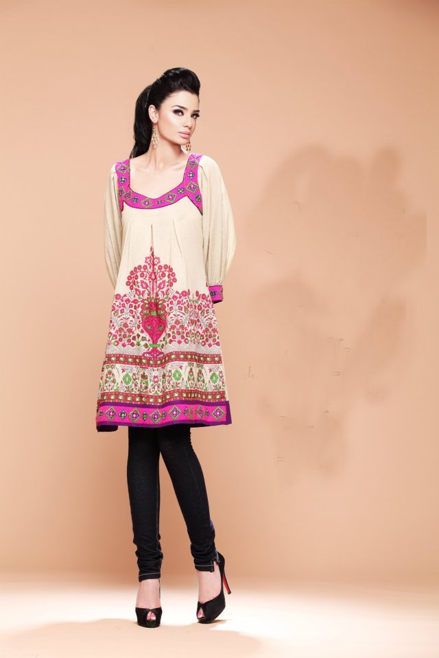 Pakistani Casual Dresses Designs 2018 Images