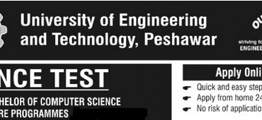 ETEA Entry Test 2017 for Engineering Date and Result