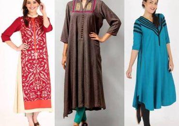 New Ladies Kurta Design 2018 Trends in Pakistan