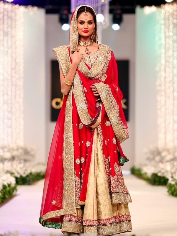Latest Pakistani Bridal Wedding Dresses 2017 Pics for Brides