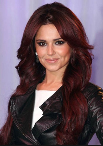 Rosy Red hair color