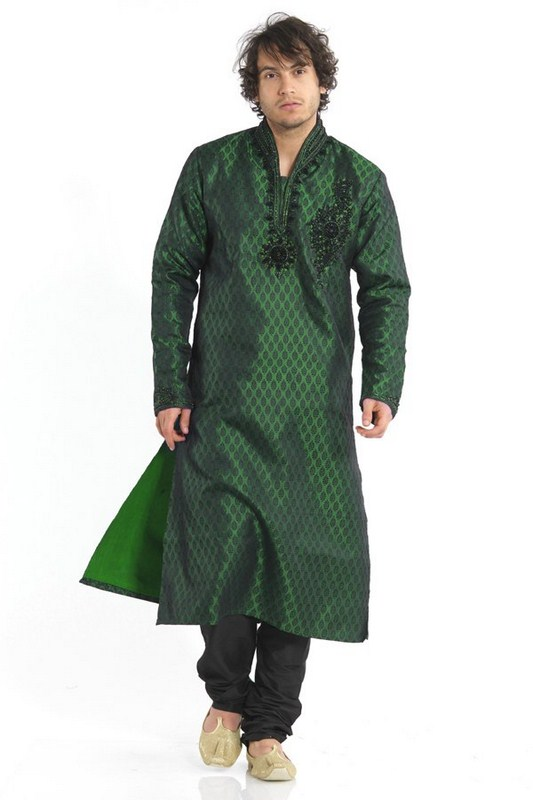 Mehndi Mens Clothes : Mehndi kurta style for mens designs collection