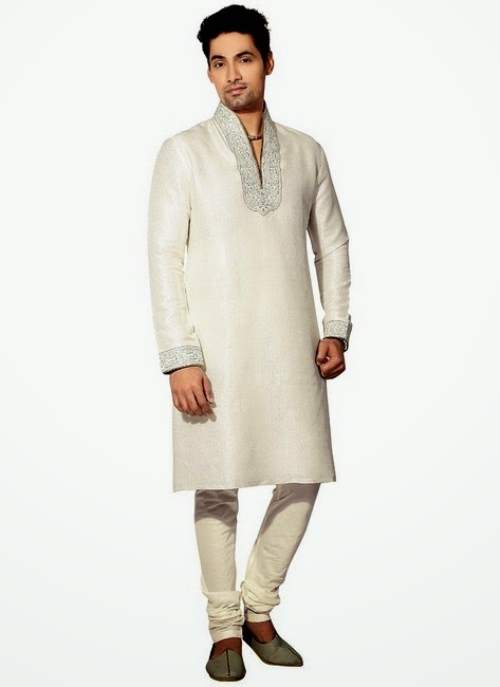 Mehndi Kurta For Mens : Mehndi kurta style for mens designs collection