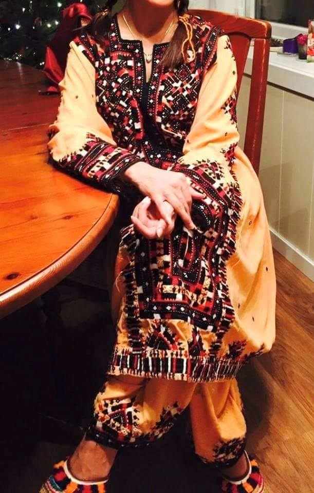 New Balochi Dress Design 2018 For Girls Pics