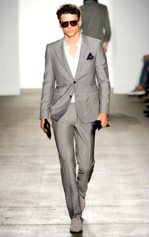 Pocket Style Men Suit
