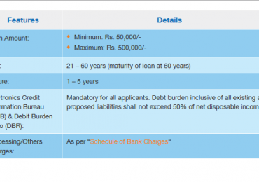 Best Bank in Pakistan for Personal Loan Calculator Interest Rate 2021