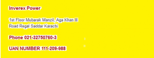 Inverex UPS Price in Pakistan 2019 Dealers Service Center in Karachi Lahore Islamabad