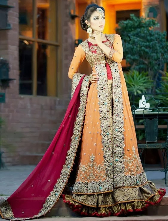 Lehengas and Mid Length Shirts
