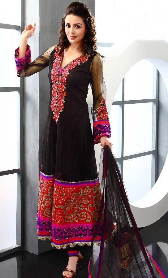 Anarkali Frocks and Churidaar Pajamas