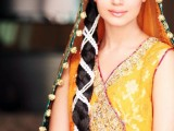 Pakistani Bridal Hairstyle 2018 for Mehndi Barat Walima Function