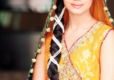 Pakistani Bridal Hairstyle 2021 for Mehndi Barat Walima Function