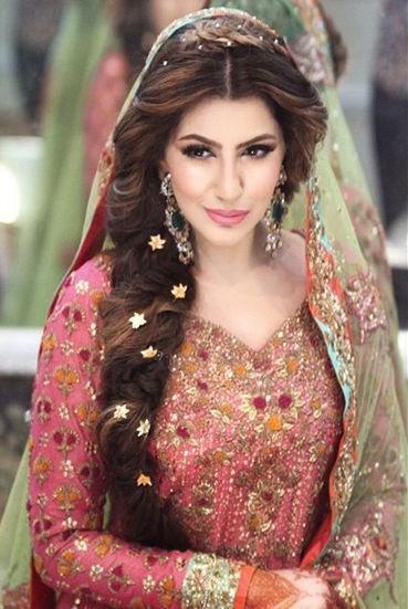 Party Makeup And Hairstyles In Pakistan