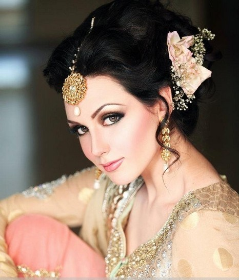 Indian Party Hairstyles: Pakistani Party Makeup Hairstyles 2018 Pictures