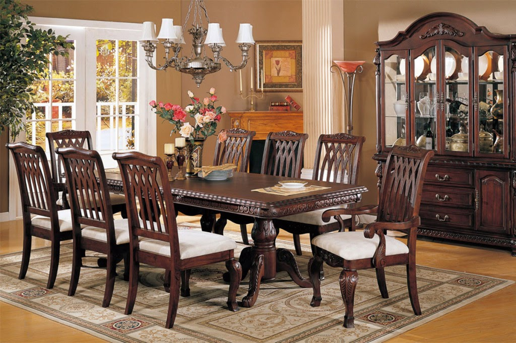 Latest furniture designs 2018 in pakistan with prices for for Dining room designs 2018