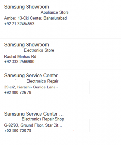Samsung Dealers in Karachi Authorized Shops LED TV