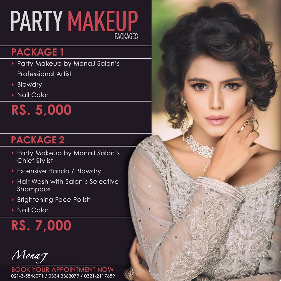 mona j salon price list 2018 deals