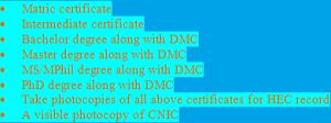 HEC Degree Verification through Leopard Courier OCS Attestation Process