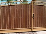 new brown gate