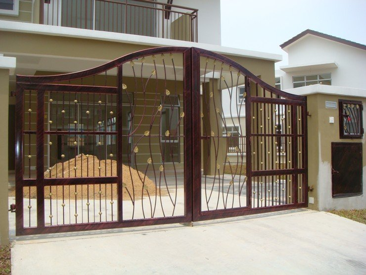 24 1 - 13+ Small House Front Gate Design  Images