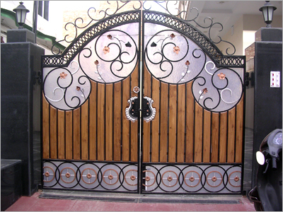 Front home main iron gate design for house in pakistan for Home get design