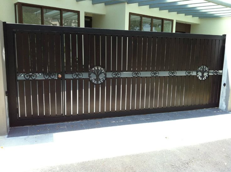 Home Design Gate Ideas: Front Home Main Iron Gate Design For House In Pakistan
