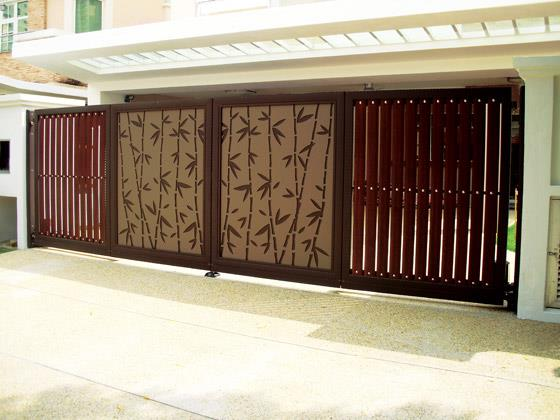 27 4 - 34+ Small House Front Gate Designs For Houses Pics