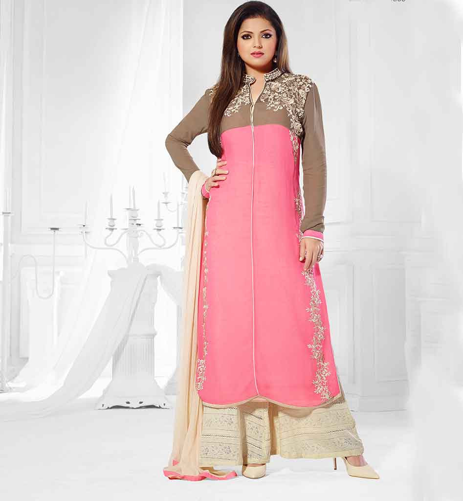 Lastest New Gown Style Dresses In Pakistan 23