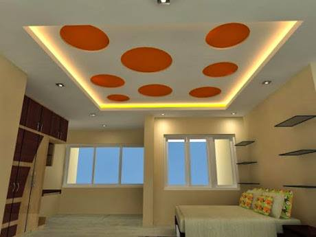 Ceiling design 2018 in pakistan roof pictures for living for P o p bedroom designs