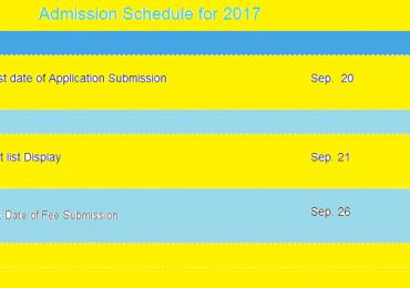 Sargodha University UOS Lahore Campus Merit List 2018 1st 2nd 3rd