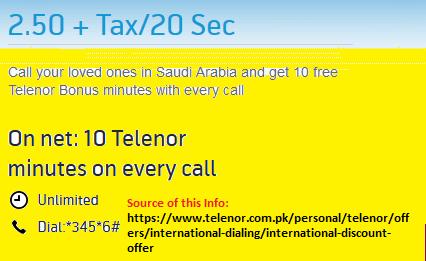 its for Saudi call