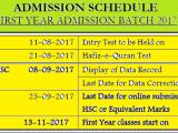 NED University of Engineering Merit List 2017 NED Entry Test Result