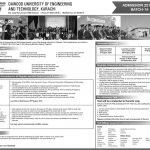 Duet Merit List 2018 19 Dawood University of Engineering and Technology