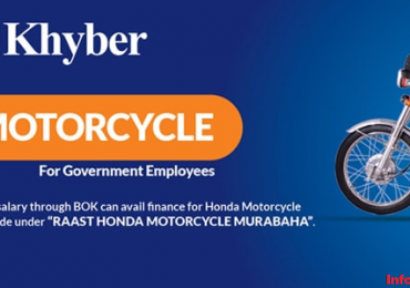 Bank of Khyber Motorcycle Scheme for Honda Bike Loan