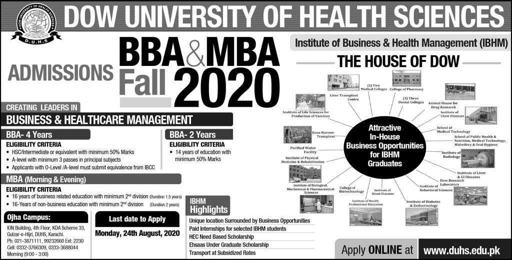 Dow University of Health Sciences Karachi