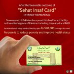 Sehat Insaf Card Registration Form Online Application by KPK Sehat Sahulat Program