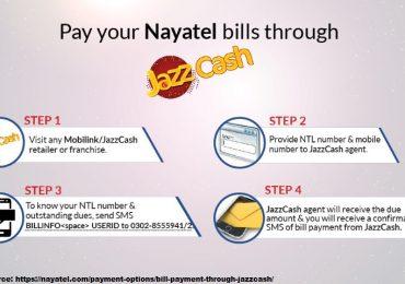Nayatel Bill Payment Online Print Check