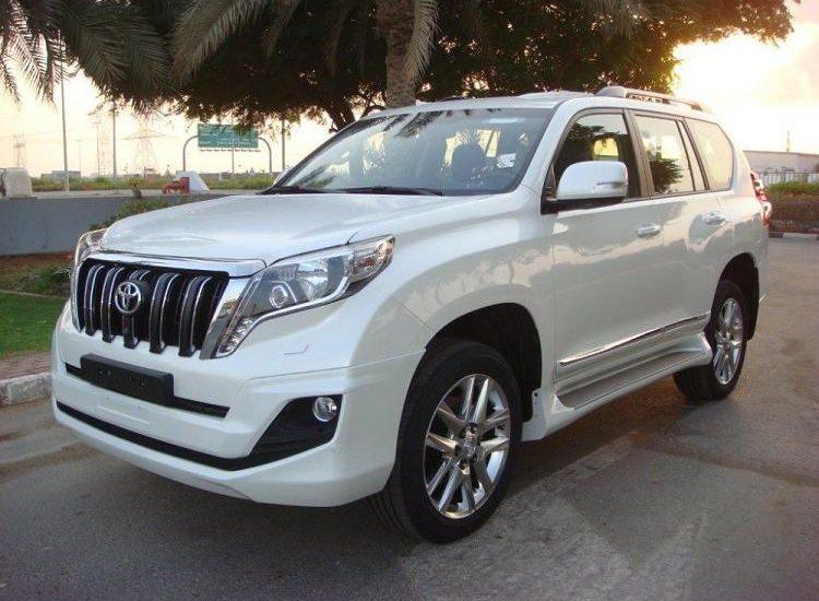 latest vehicle of Prado