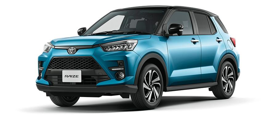 Toyota Raize Exterior