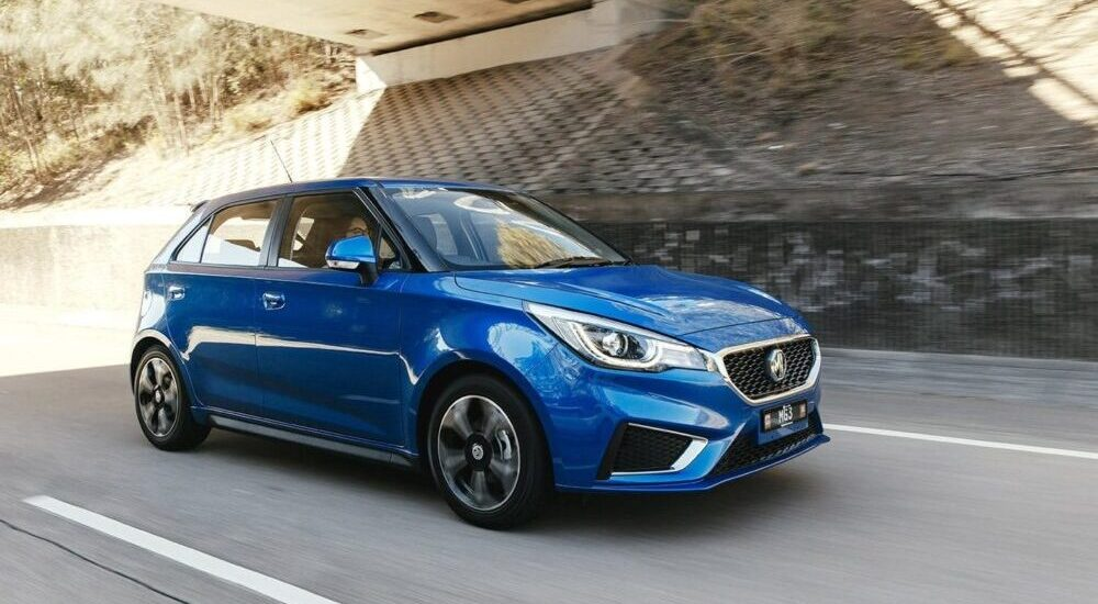a new car of the mg brand